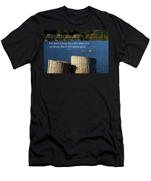 Hope For A Tree Men's T-Shirt (Athletic Fit)