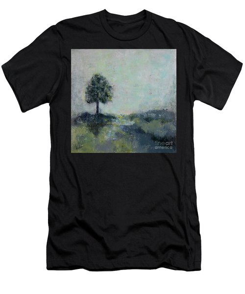 Hope On The Horizo Men's T-Shirt (Athletic Fit)