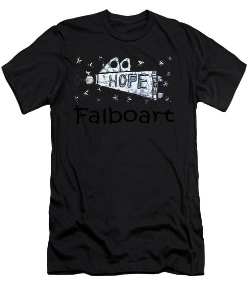 Hope T-shirt Men's T-Shirt (Athletic Fit)