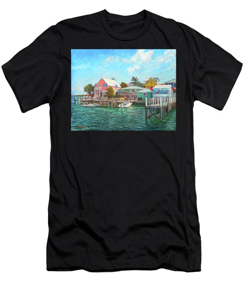 Hope Town By The Sea Men's T-Shirt (Athletic Fit)