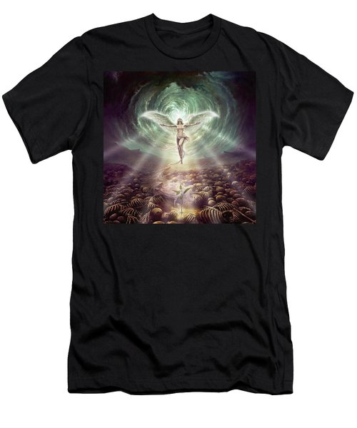 Men's T-Shirt (Athletic Fit) featuring the digital art Hope by Uwe Jarling