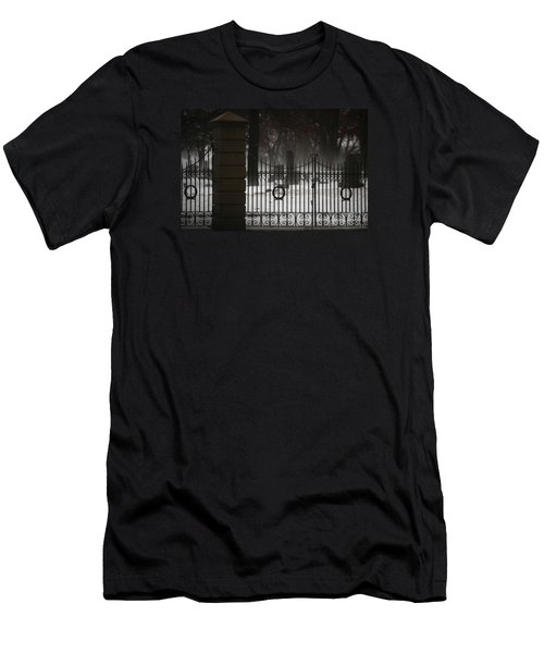 Hopeful Expectation Men's T-Shirt (Slim Fit) by Linda Shafer