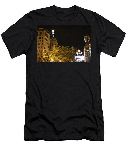Hopeful For Flint's Future Men's T-Shirt (Athletic Fit)