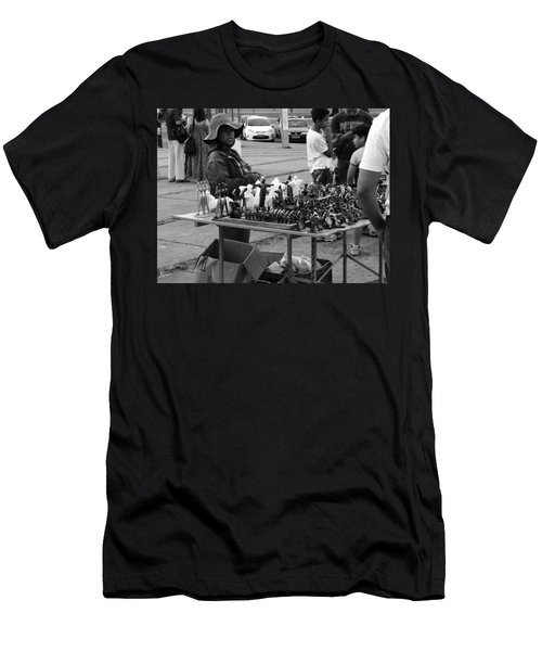 Hopes Men's T-Shirt (Slim Fit) by Beto Machado