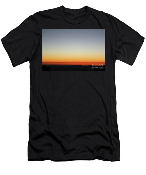 Horizon On Fire Men's T-Shirt (Athletic Fit)