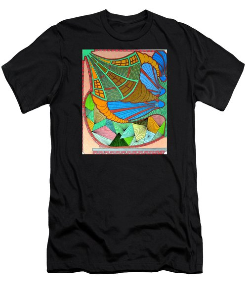 Horn Of What Men's T-Shirt (Athletic Fit)