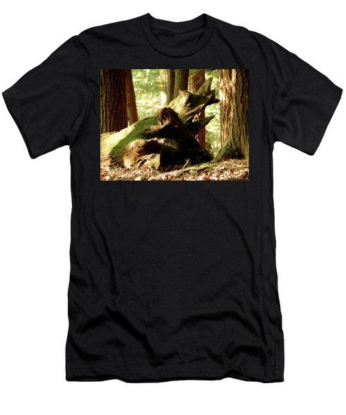 Horned Tree Men's T-Shirt (Athletic Fit)