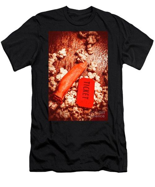 Horror Film Concept Men's T-Shirt (Athletic Fit)