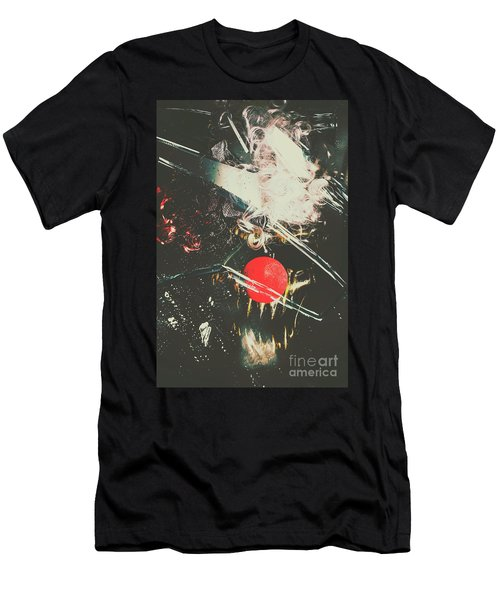 Horror House Of Mirror Men's T-Shirt (Athletic Fit)