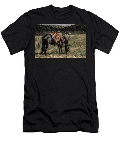Horse 3 Men's T-Shirt (Athletic Fit)