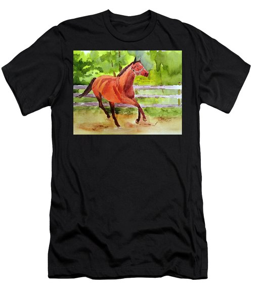 Horse #3 Men's T-Shirt (Athletic Fit)