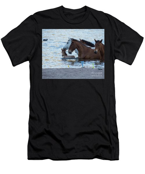 Horse 6 Men's T-Shirt (Athletic Fit)
