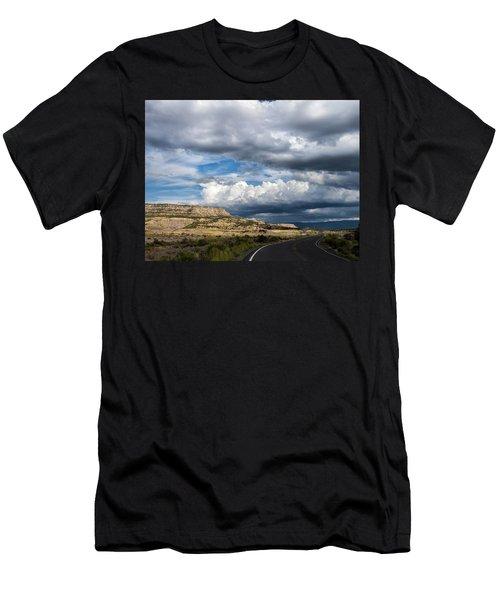 Horse Canyon By De Beque Colorado Men's T-Shirt (Athletic Fit)