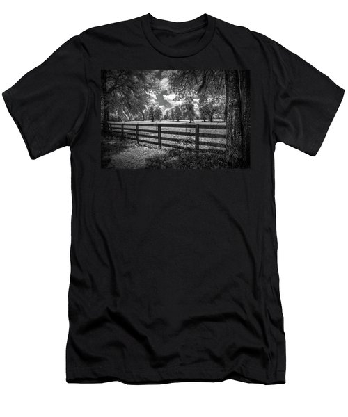 Men's T-Shirt (Slim Fit) featuring the photograph Horse Country by Louis Ferreira