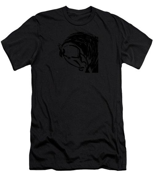 Horse Design A Men's T-Shirt (Athletic Fit)