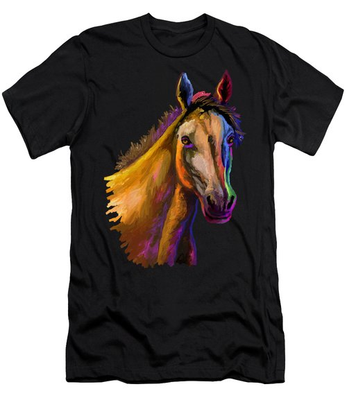 Horse Head Men's T-Shirt (Athletic Fit)
