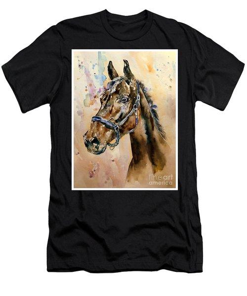 Horse Head Men's T-Shirt (Athletic Fit)