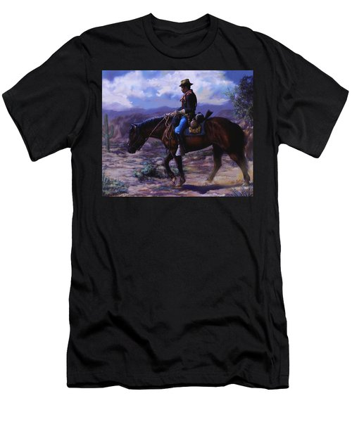 Horse Trainer Men's T-Shirt (Athletic Fit)