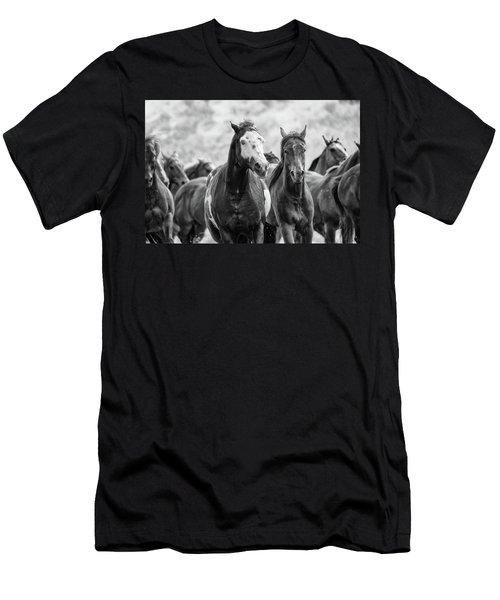 Horsepower Men's T-Shirt (Athletic Fit)