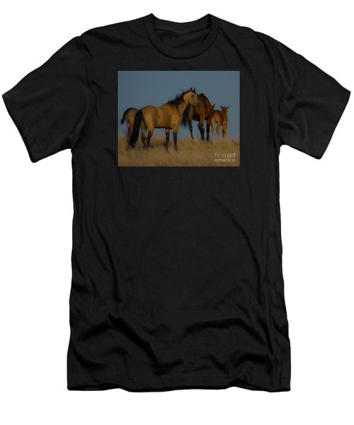 Horses 1 Men's T-Shirt (Athletic Fit)