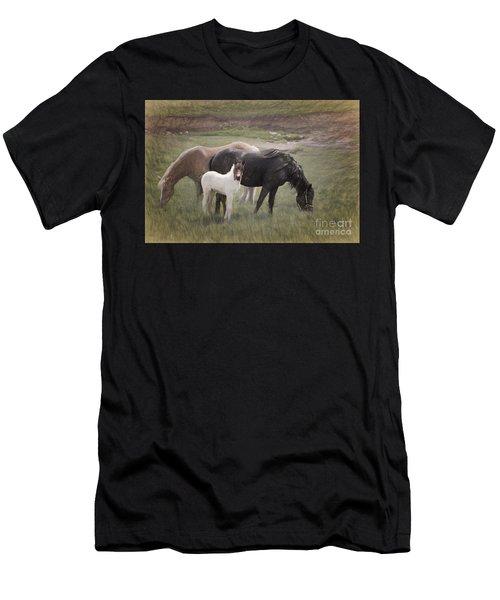 Horses And Colt  Men's T-Shirt (Athletic Fit)