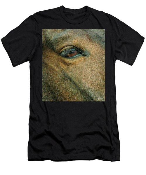 Horses Eye Men's T-Shirt (Athletic Fit)