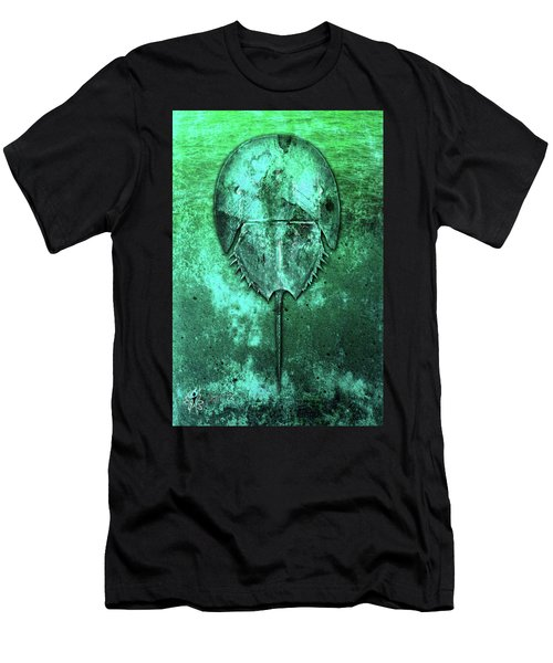 Men's T-Shirt (Athletic Fit) featuring the digital art Horseshoe Crab by Doug Schramm