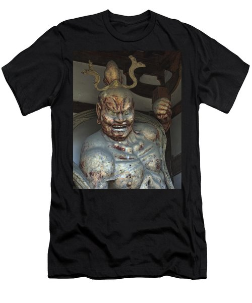 Horyu-ji Temple Gate Guardian - Nara Japan Men's T-Shirt (Athletic Fit)