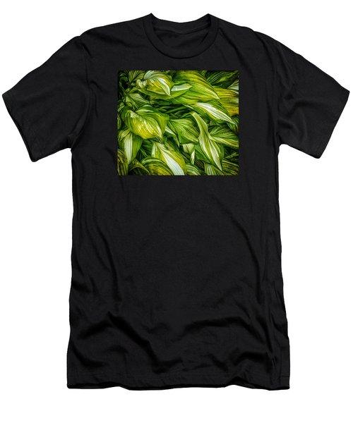 Hosta Chaos Men's T-Shirt (Athletic Fit)