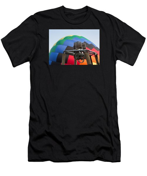Hot Air Balloning Men's T-Shirt (Athletic Fit)
