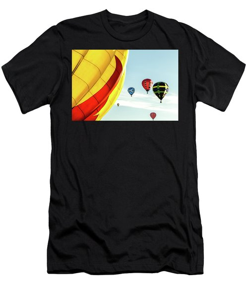 Hot Air Balloons Men's T-Shirt (Athletic Fit)