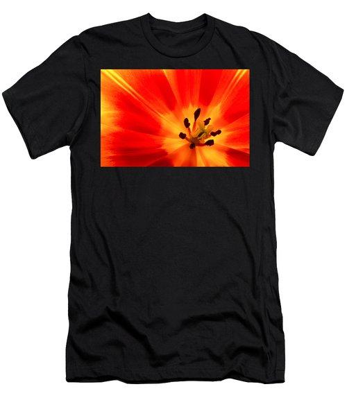 Hot Air Tulip Men's T-Shirt (Athletic Fit)