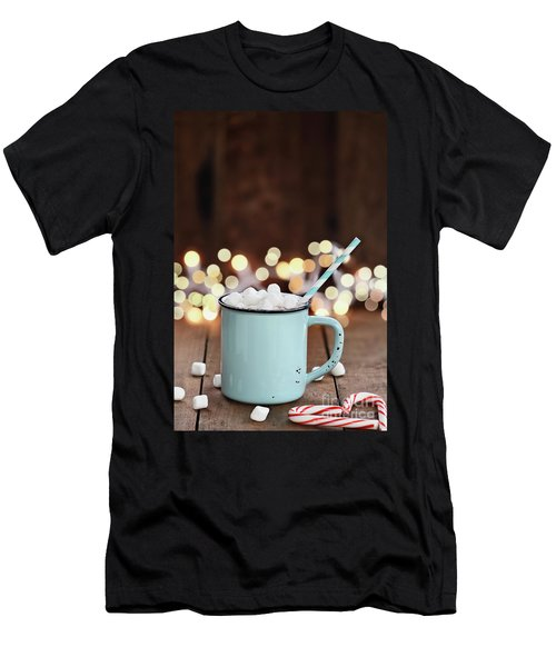 Hot Cocoa With Mini Marshmallows Men's T-Shirt (Athletic Fit)