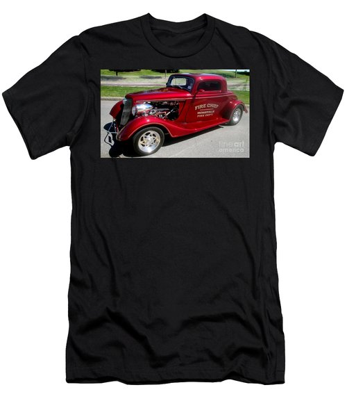 Hot Rod Chief Men's T-Shirt (Athletic Fit)