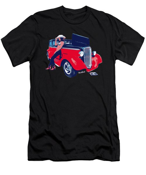 Hot Rod Hot One Men's T-Shirt (Athletic Fit)