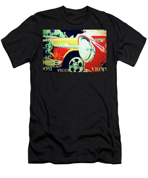 Hot Rods Go Vroom Vroom Men's T-Shirt (Athletic Fit)