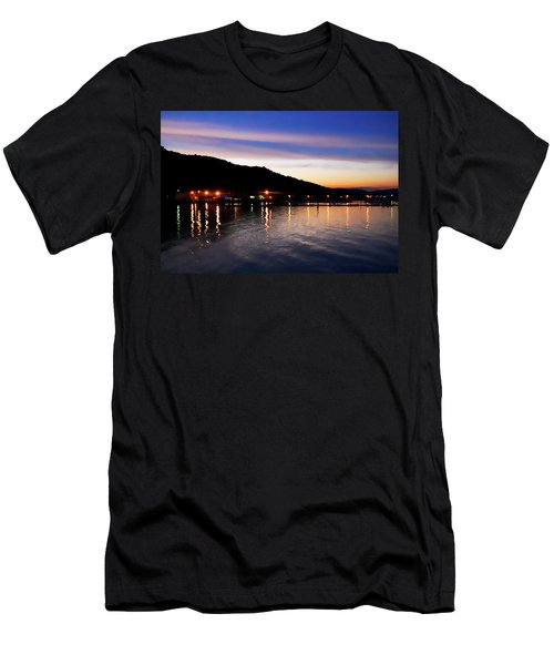 Hot Summers Night Men's T-Shirt (Athletic Fit)