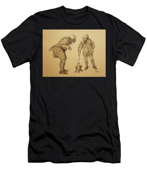 Hot Toddy Men's T-Shirt (Athletic Fit)