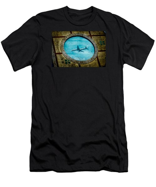 Hot Tub Flight Men's T-Shirt (Athletic Fit)