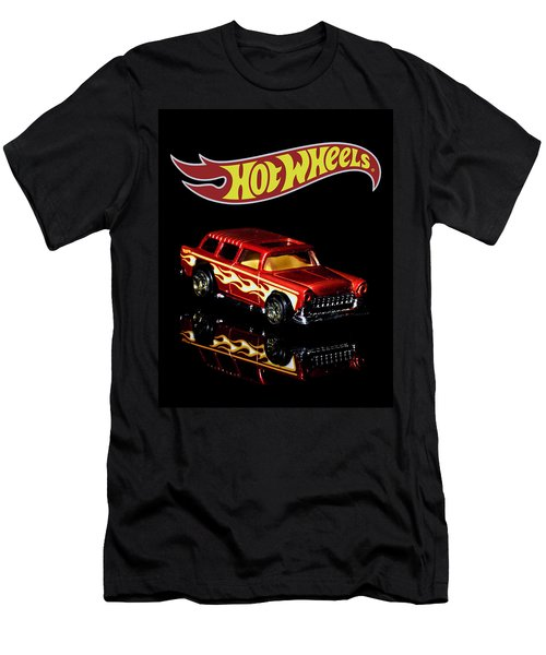 Hot Wheels '55 Chevy Nomad 2 Men's T-Shirt (Athletic Fit)