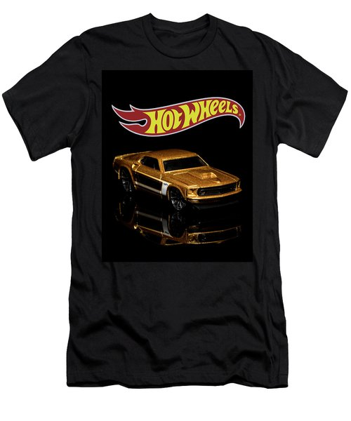 Hot Wheels '69 Ford Mustang 2 Men's T-Shirt (Athletic Fit)