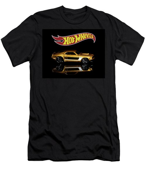 Hot Wheels '69 Ford Mustang Men's T-Shirt (Athletic Fit)
