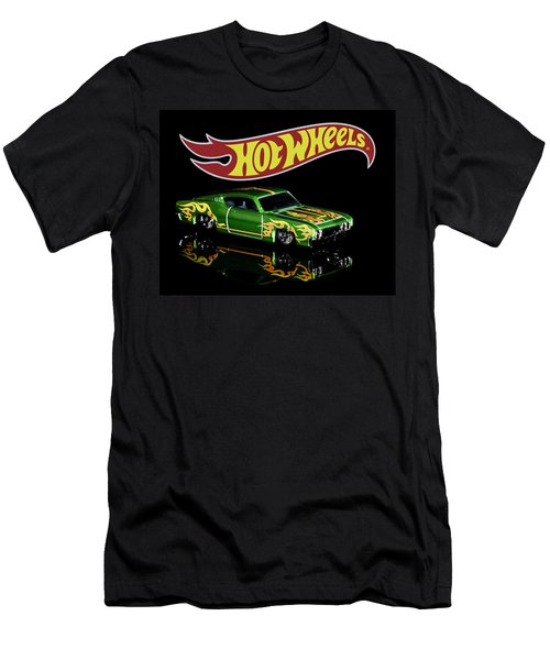 Hot Wheels '69 Ford Torino Talladega Men's T-Shirt (Athletic Fit)