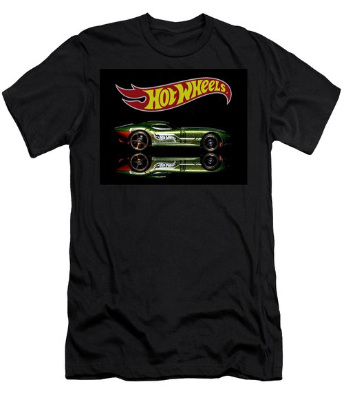 Hot Wheels Fast Felion Men's T-Shirt (Athletic Fit)