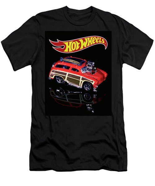 Hot Wheels Surf 'n' Turf Men's T-Shirt (Athletic Fit)