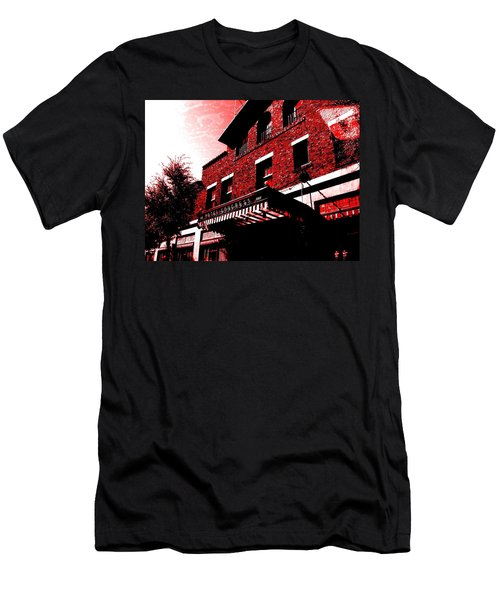 Men's T-Shirt (Athletic Fit) featuring the photograph Hotel Congress by MB Dallocchio