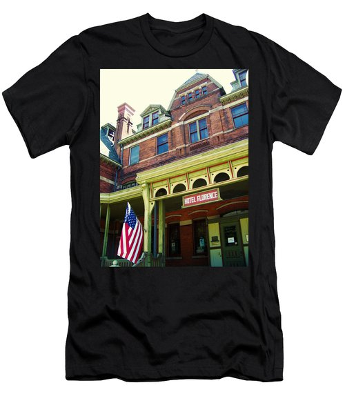 Hotel Florence Pullman National Monument Men's T-Shirt (Athletic Fit)