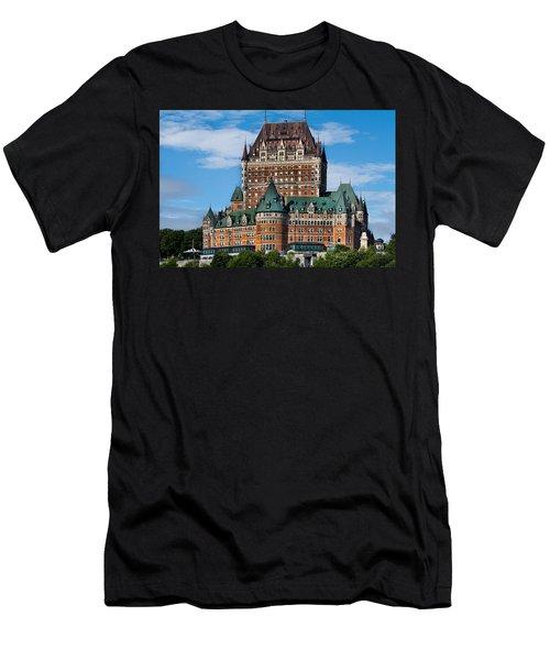 Chateau Frontenac In Quebec City Men's T-Shirt (Athletic Fit)