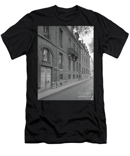Hotel Lauzun, Facade, 1929 Men's T-Shirt (Athletic Fit)