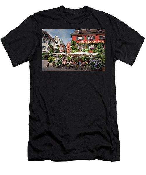 Hotel Lowen-weinstube Men's T-Shirt (Athletic Fit)